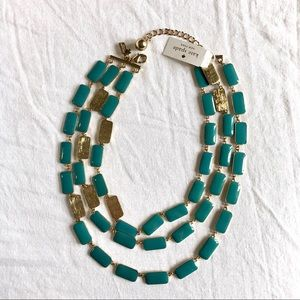 Kate Spade 3 Layered Necklace